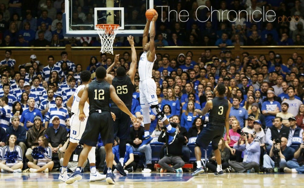 <p>The Blue Devils have had to deal with adversity since October, when Harry Giles underwent a knee scope.</p>