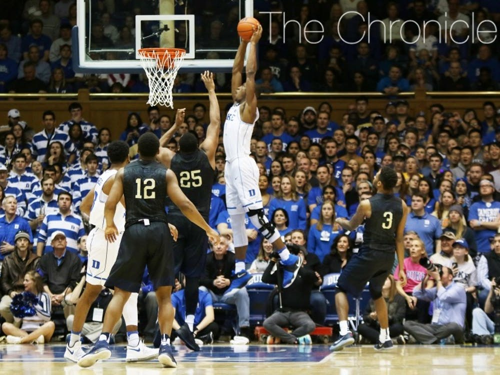 The Blue Devils have had to deal with adversity since October, when Harry Giles underwent a knee scope.