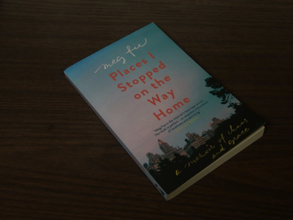 "Public policy graduate student Meg Fee published her memoir ""Places I Stopped on the Way Home: A Memoir of Chaos and Grace"" in May."