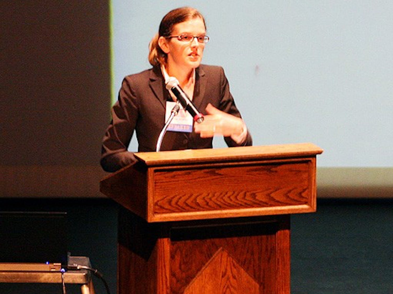 Hannah Wiseman, a professor at Florida State University, speaks about the legal regulations surrounding fracking.