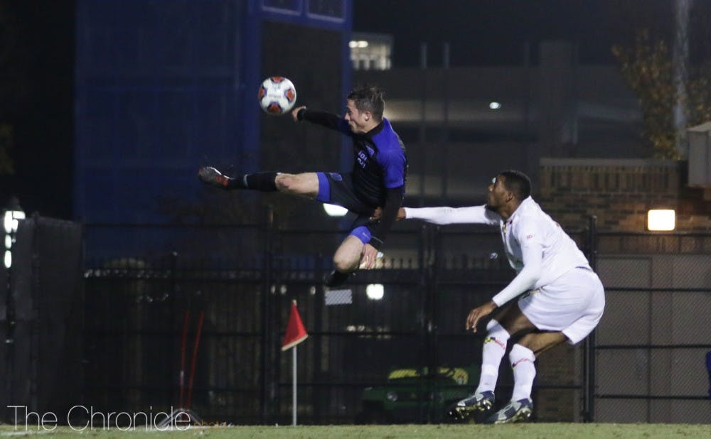 <p>Daniele Proch and the Blue Devils failed to get on the board Saturday.&nbsp;</p>