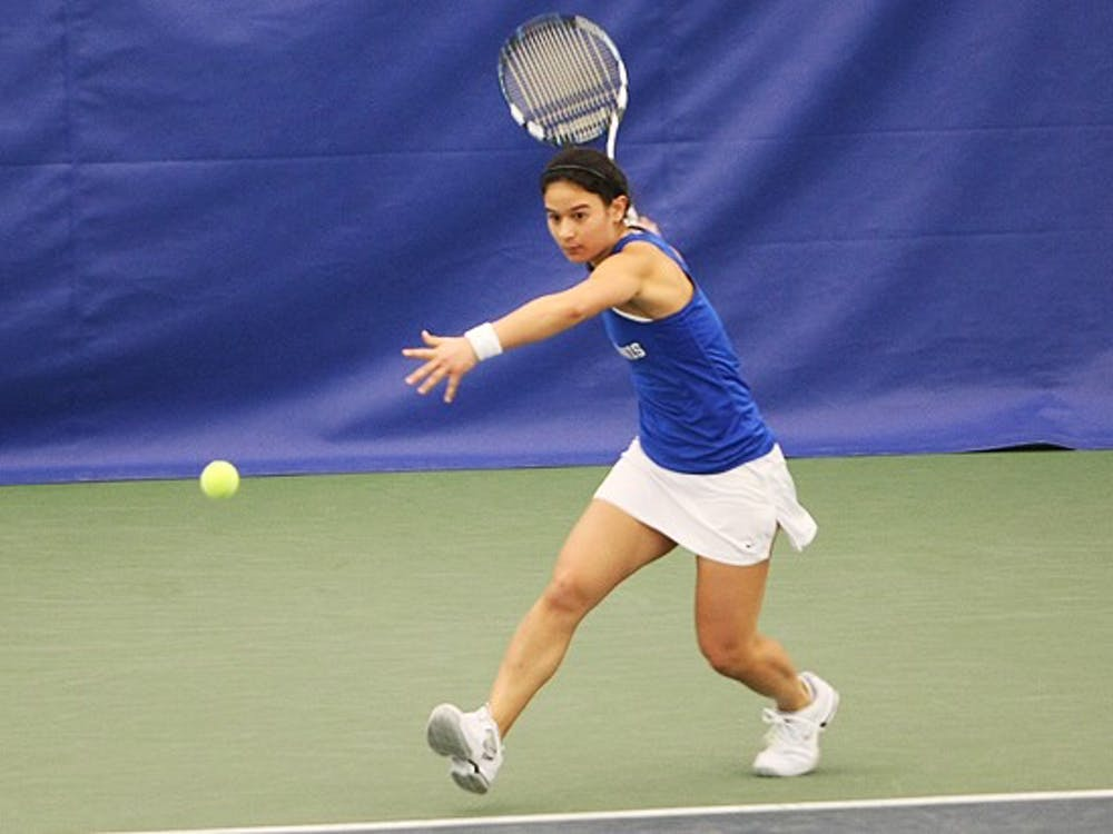 Junior Hanna Mar, who is currently ranked 25th nationally, boasts a 7-5 singles record in dual matches this season.