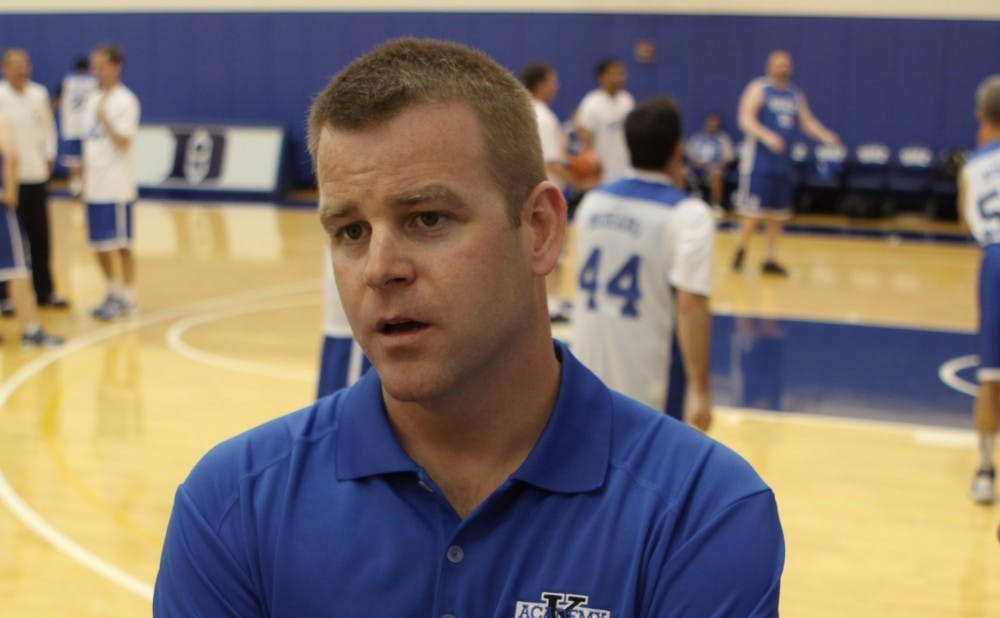 Steve Wojciechowski coached at Duke from 1999 to 2014.