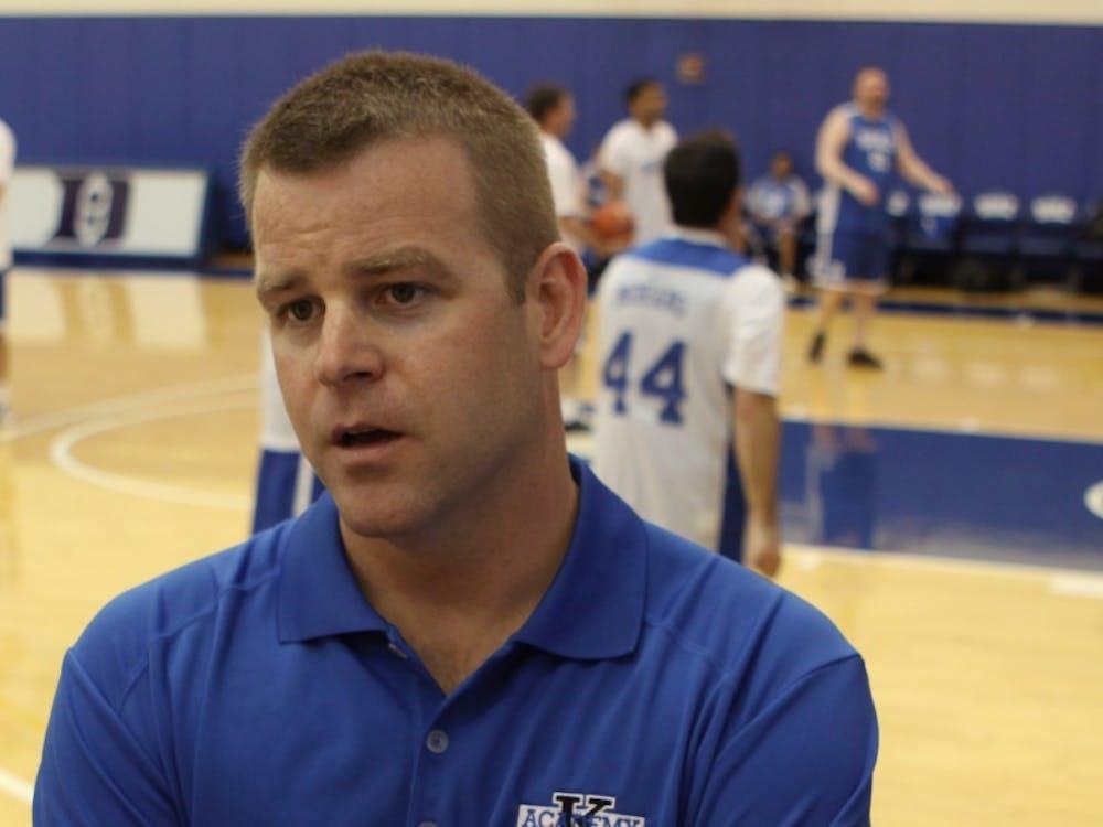 Steve Wojciechowski coached at Duke from 1999 to 2014.