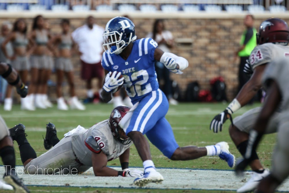 <p>The Blue Devils have started the season with four straight wins in back-to-back seasons.</p>