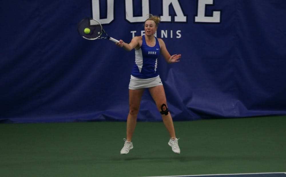<p>Freshman Kaitlyn McCarthy will look to bounce back in the NCAA singles championship&nbsp;after struggling toward the end of the season.</p>