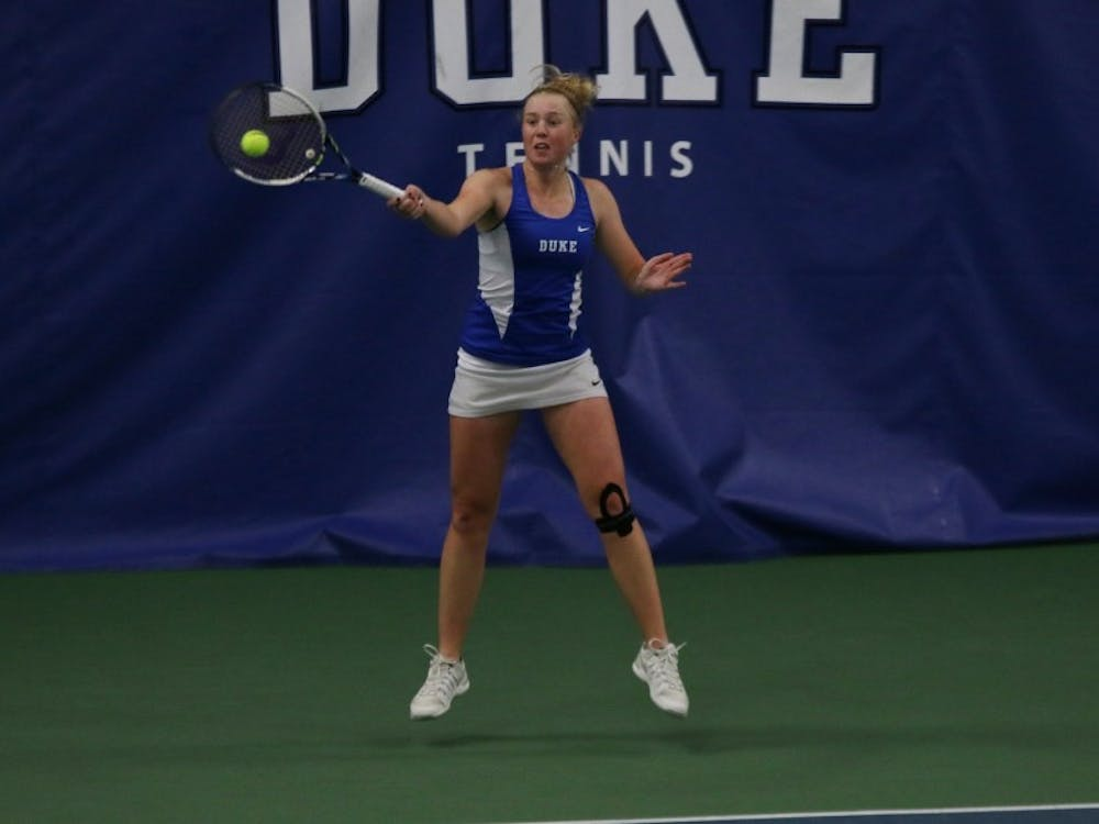 Freshman Kaitlyn McCarthy will look to bounce back in the NCAA singles championshipafter struggling toward the end of the season.
