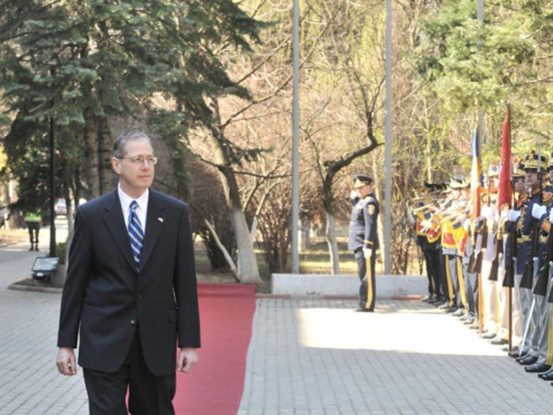 Mark Gitenstein, Trinity '68, was the former ambassador to Romania.