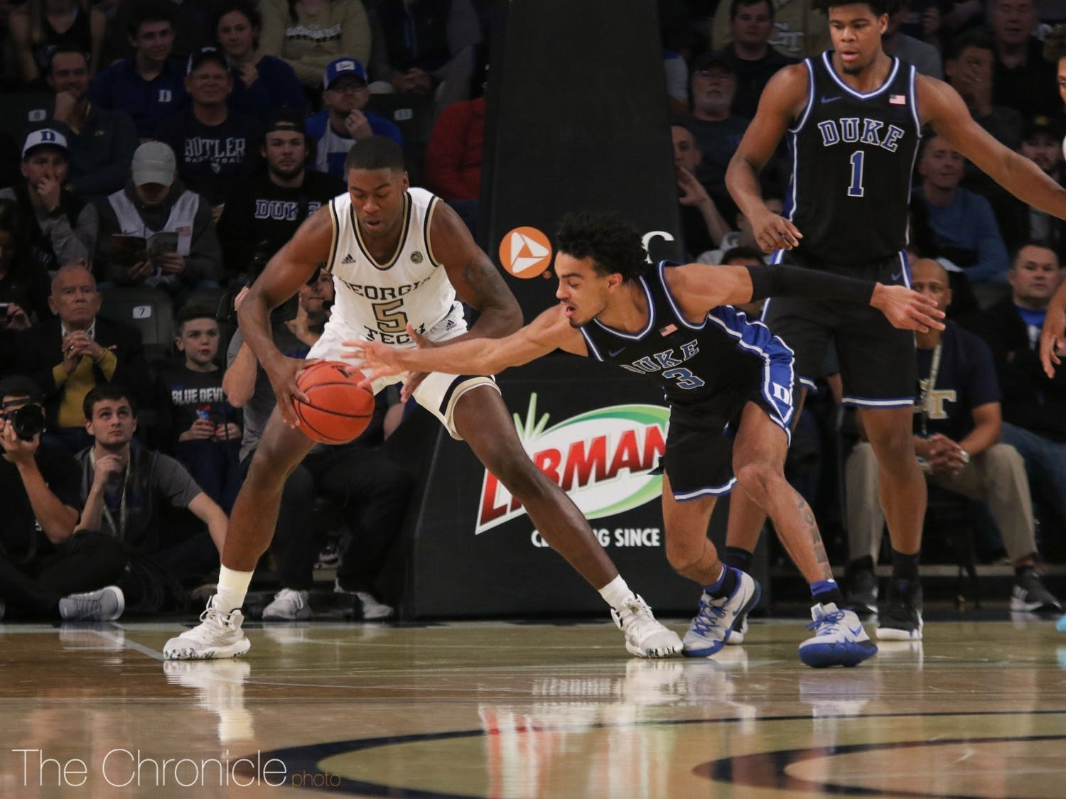 Tre Jones' perimeter defense will be a key against Notre Dame's 3-point centric offense
