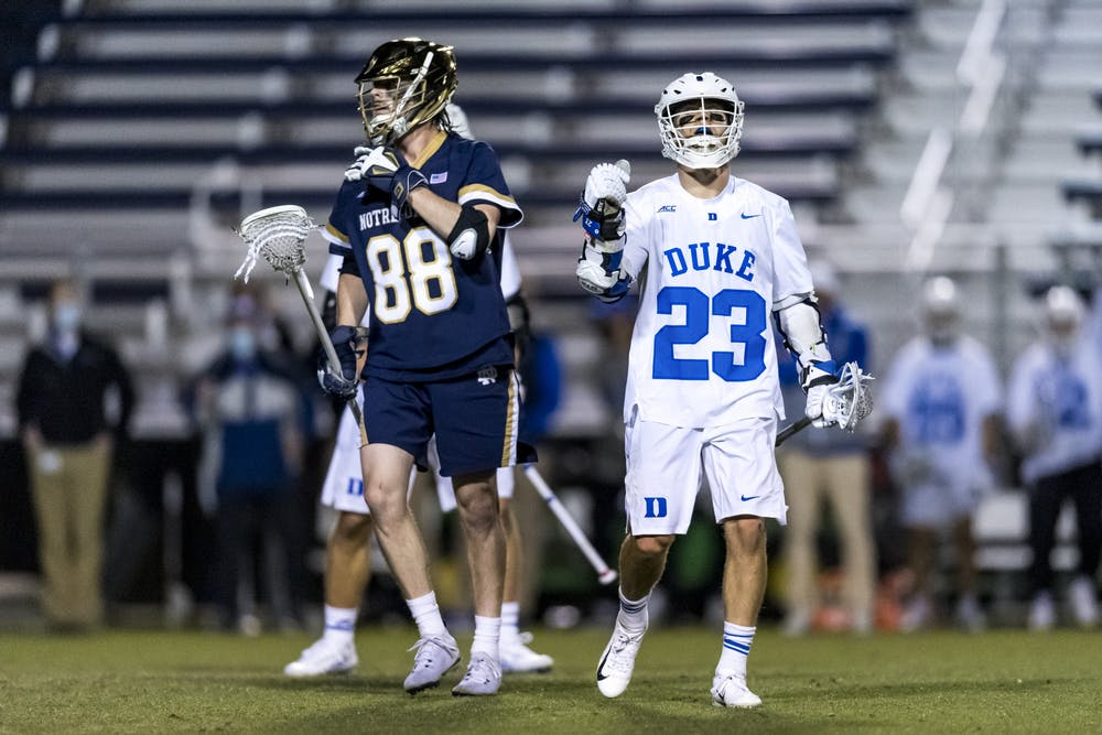 Michael Sowers' late-game heroics pushed Duke men's lacrosse to yet another one-goal win.