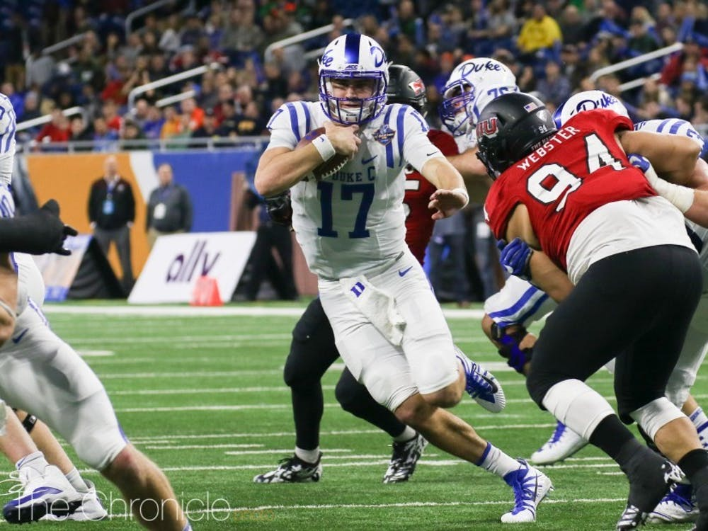 Daniel Jones is expected to eventually take over for Eli Manning with the Giants.