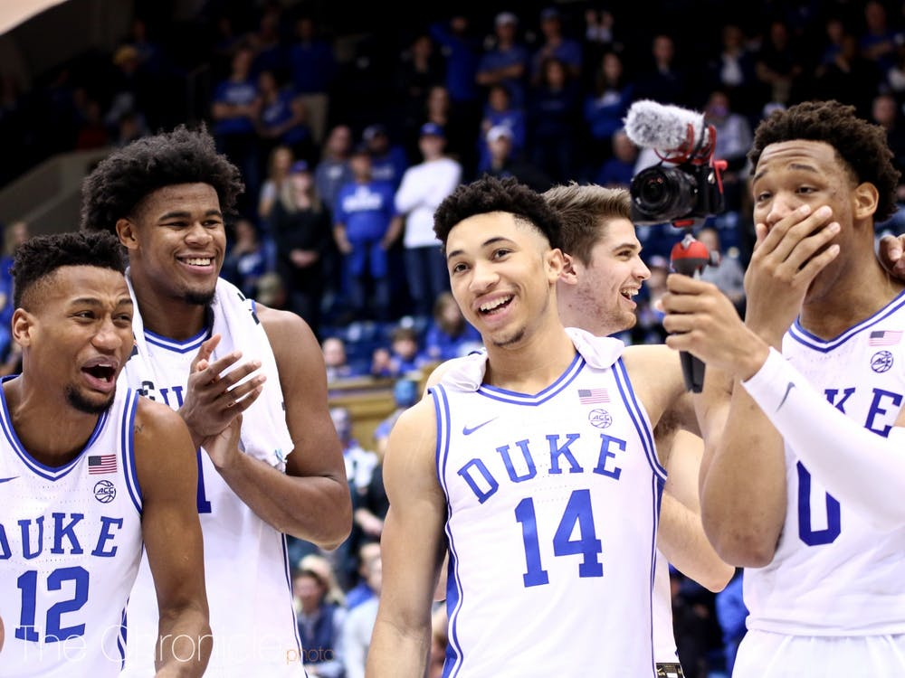 Duke's home win against North Carolina March 7 proved to be its final game of the season.