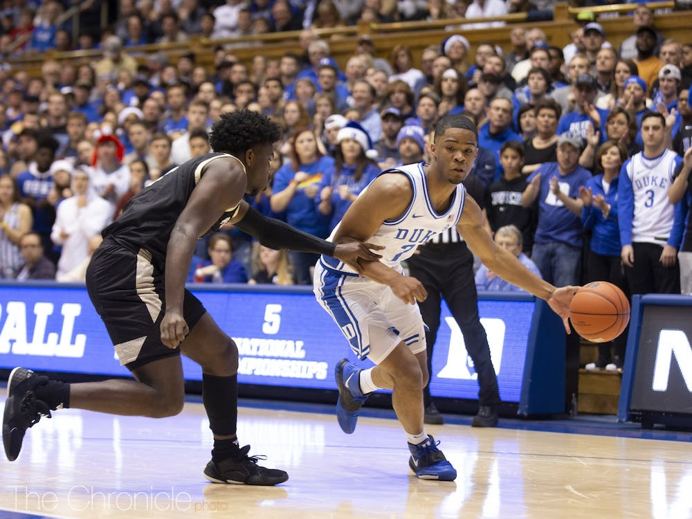 Freshman guard Cassius Stanley can make a bigger impact for the Blue Devils with point guard Tre Jones only possibly returning from injury Saturday.