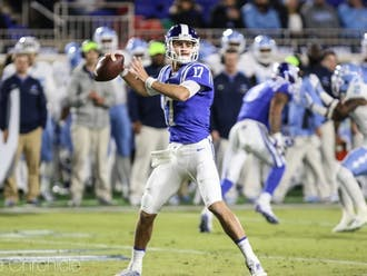 Daniel Jones will look to build on an encouraging rookie season once the NFL resumes play.