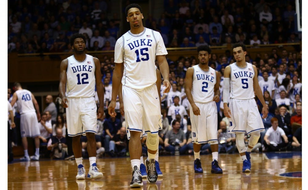 <p>The 2014-15 season was the last time there was a female men's basketball manager for Duke.</p>