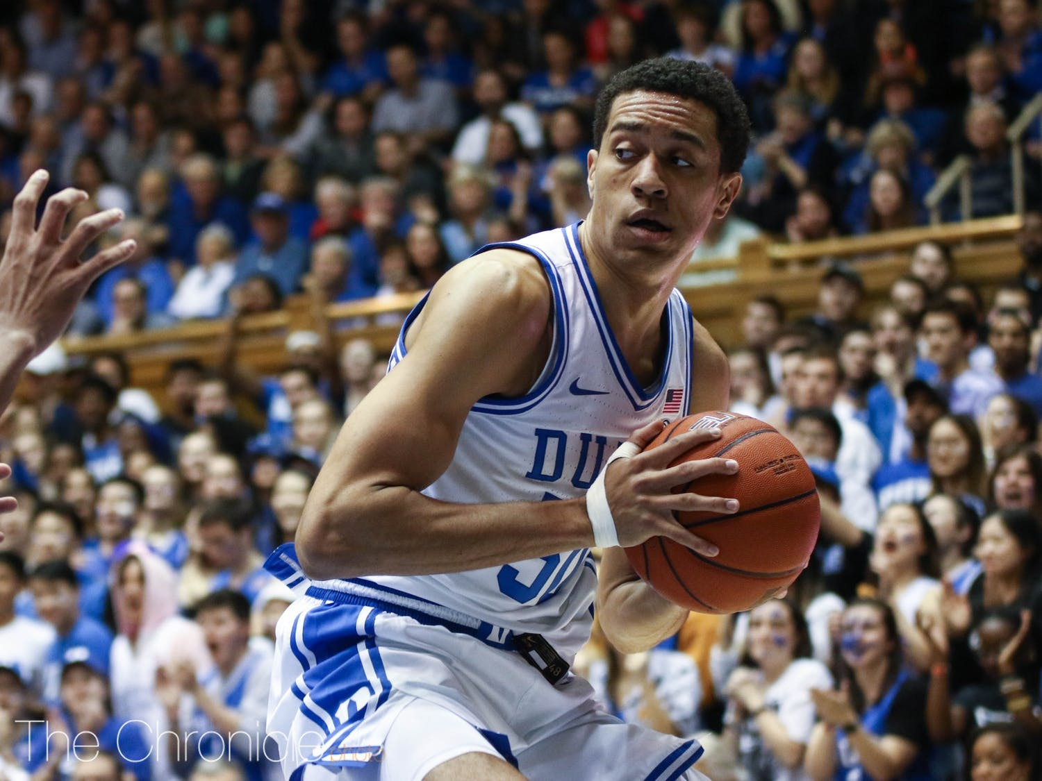 Justin Robinson is among three Blue Devil seniors that will play in their last game in Cameron Indoor Stadium Saturday.