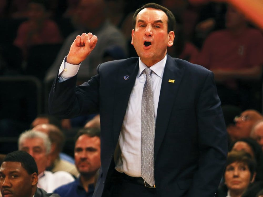 Head coach Mike Krzyzewski has reached the next milestone approximately every four seasons during his 35-year career at Duke.
