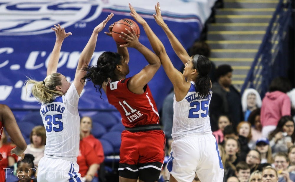 <p>Jade Williams will need to continue her high-level defensive play against Eastern Carolina's explosive guards.</p>