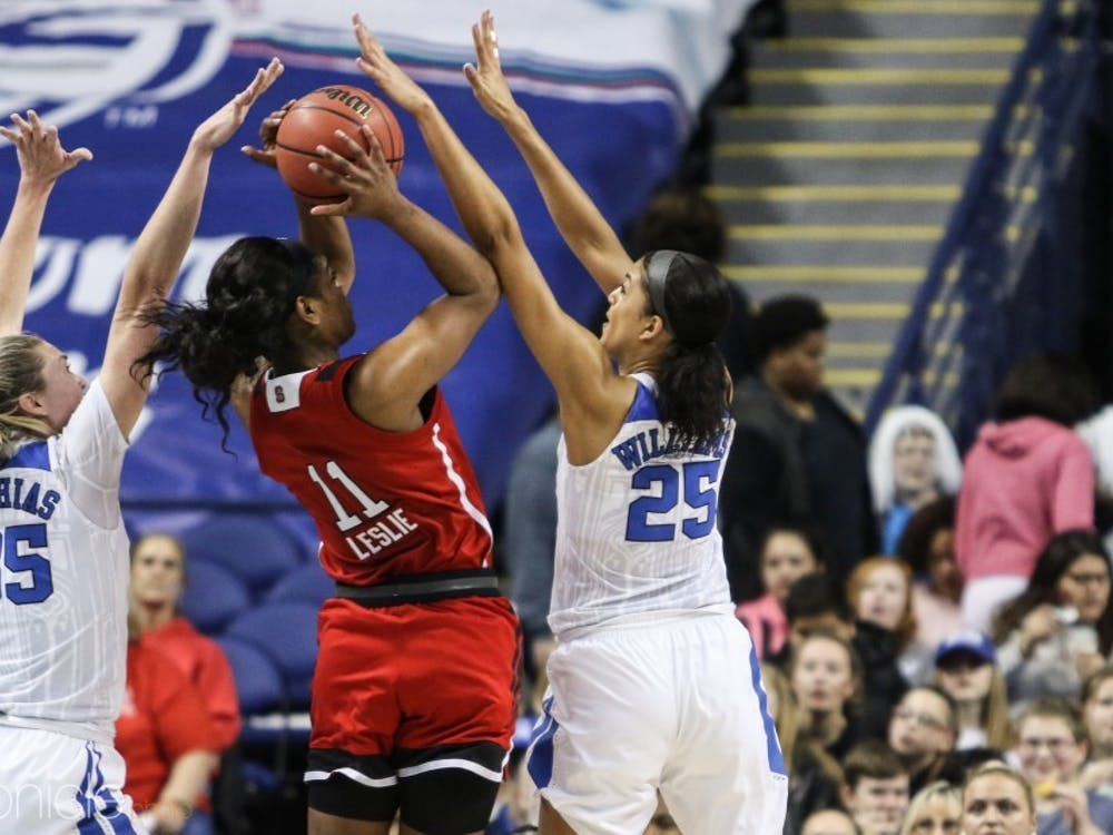 Jade Williams will need to continue her high-level defensive play against Eastern Carolina's explosive guards.