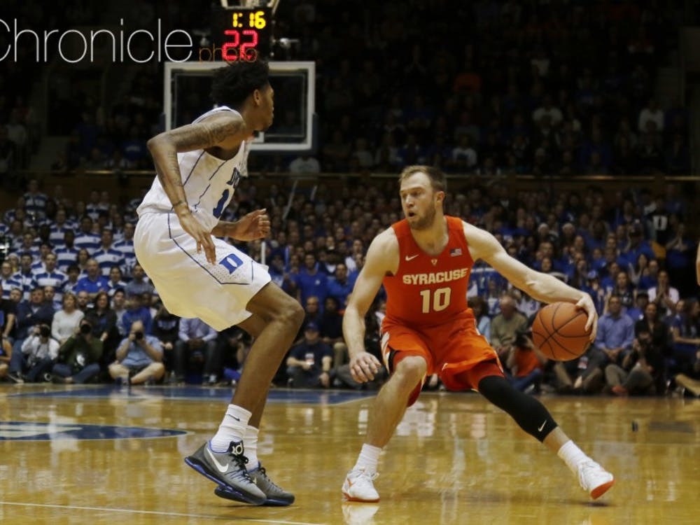 Sharpshooter Trevor Cooney leads a talented and veteran Syracuse backcourt that could make some noise in the ACC tournament after a rough start to conference play.