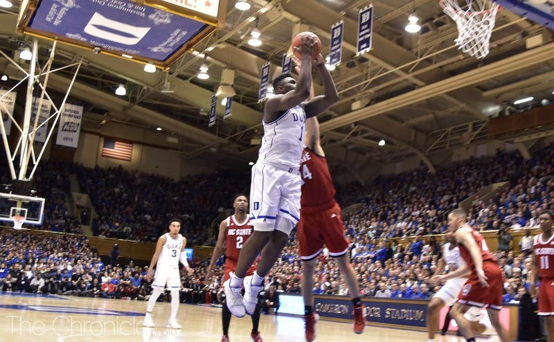 Zion Williamson helped the Blue Devils soar to the top of the AP Top 25.