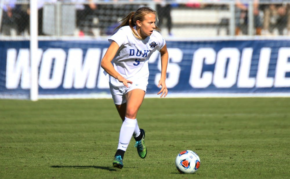 <p>Junior Rebecca Quinn has taken two semesters off to play with the Canadian national team.</p>