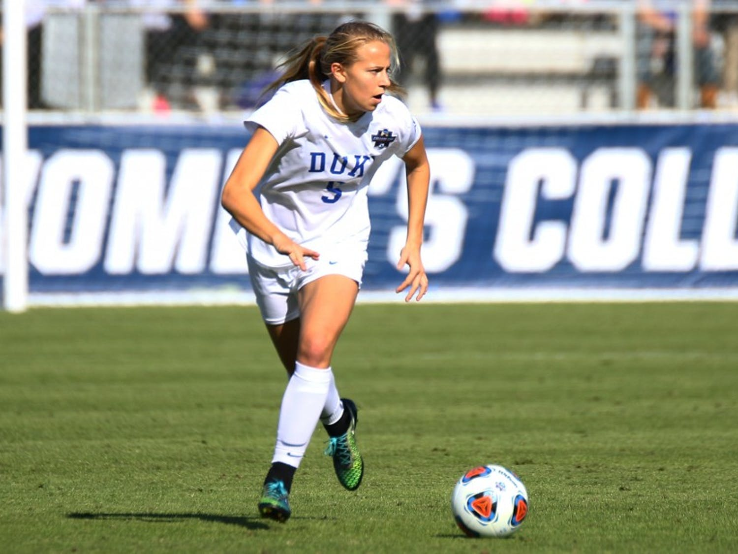 Junior Rebecca Quinn has taken two semesters off to play with the Canadian national team.