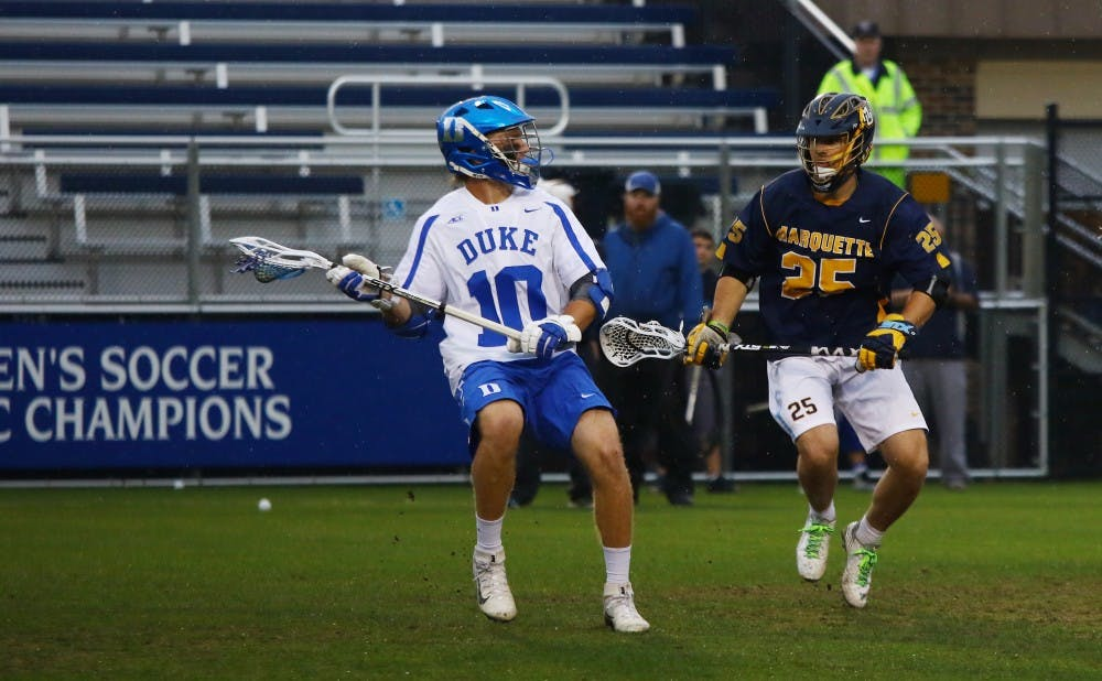 <p>Midfielder Deemer Class was held in check when the Blue Devils played&nbsp;Notre Dame during the regular season, but the All-ACC performer and his teammates are coming off a 16-1 blowout win.</p>