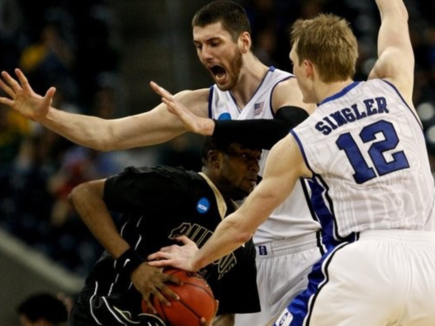 Photos from the Duke Mens Basketball Team's win over Purdue in the third round of the NCAA tournament. The win propelled Duke to its first Elite Eight since 2004.