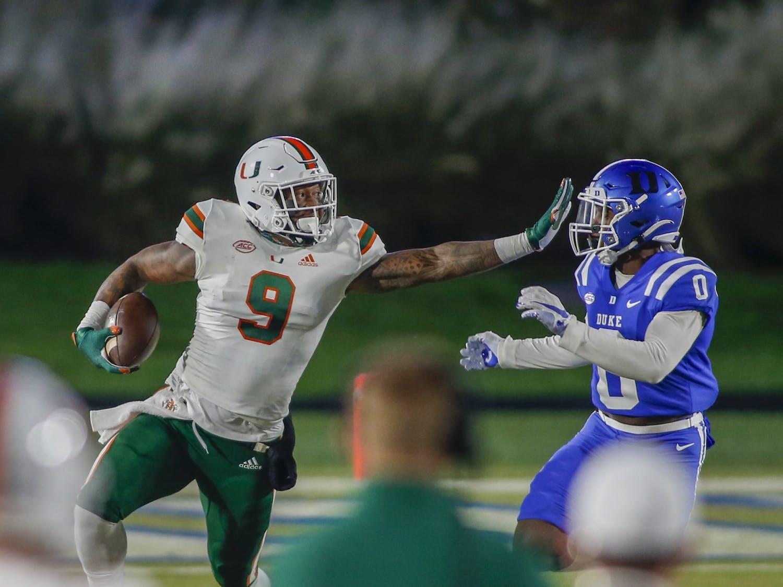 Duke had no answers for Miami Saturday night.