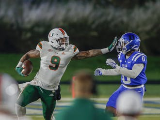 Duke had no answers for Miami Saturday night.