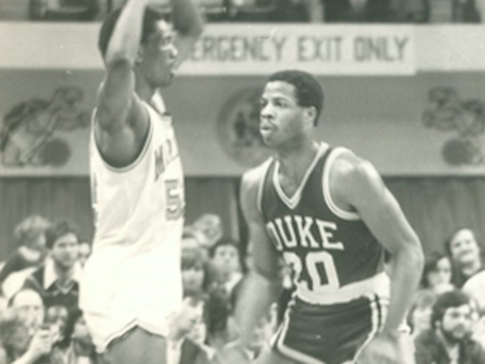 Gene Banks was the Blue Devils' first Black superstar, taking home All-ACC honors all four of his years in Durham.