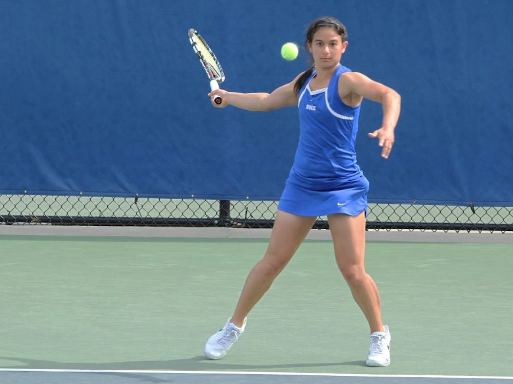 Hanna Mar and the Blue Devils avenged a prior loss to Clemson en route to advancing to the ACC Championship semifinals.