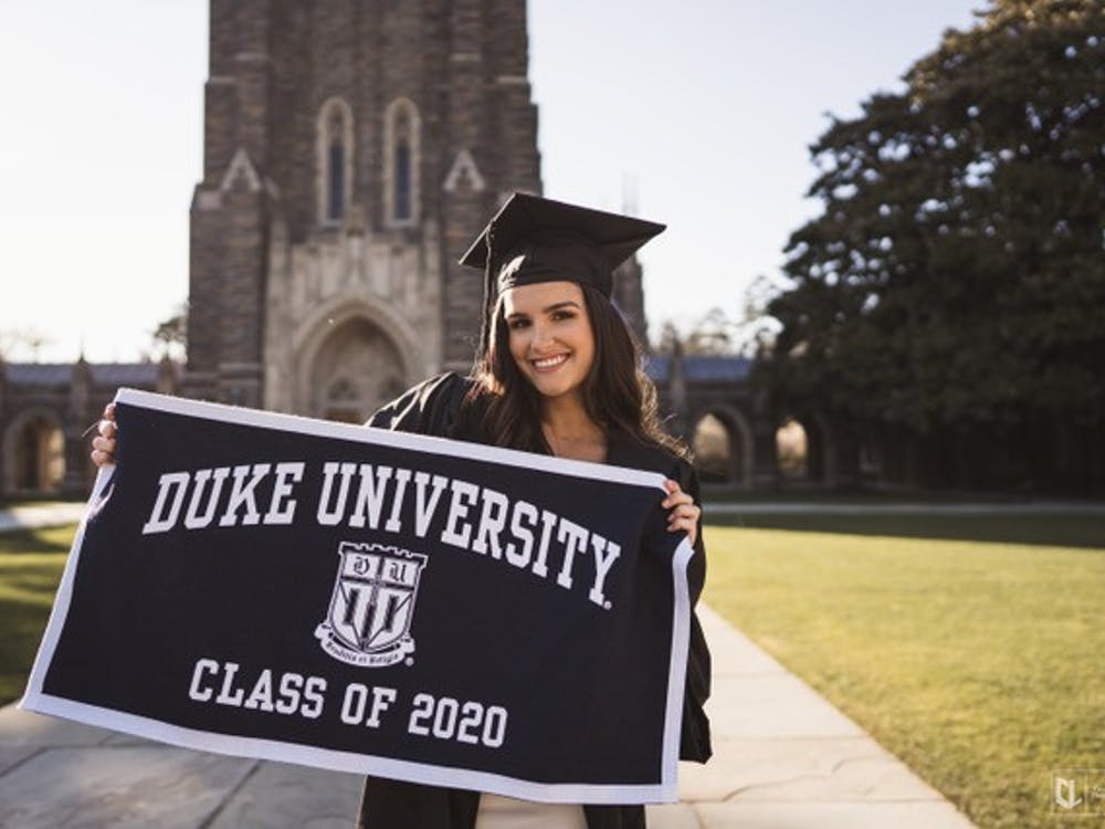 Commencement might be postponed, but some seniors got the chance to take graduation photos before saying goodbye to campus—and some who couldn't get to campus mocked something up anyway. The Chronicle asked for submissions and put this gallery together to help capture the spirit of graduation.
