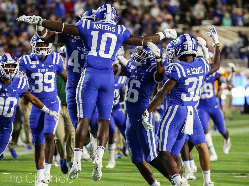 The Blue Devil defense will look to silence a Yellow Jacket offense that has bumbled thus far in 2019.