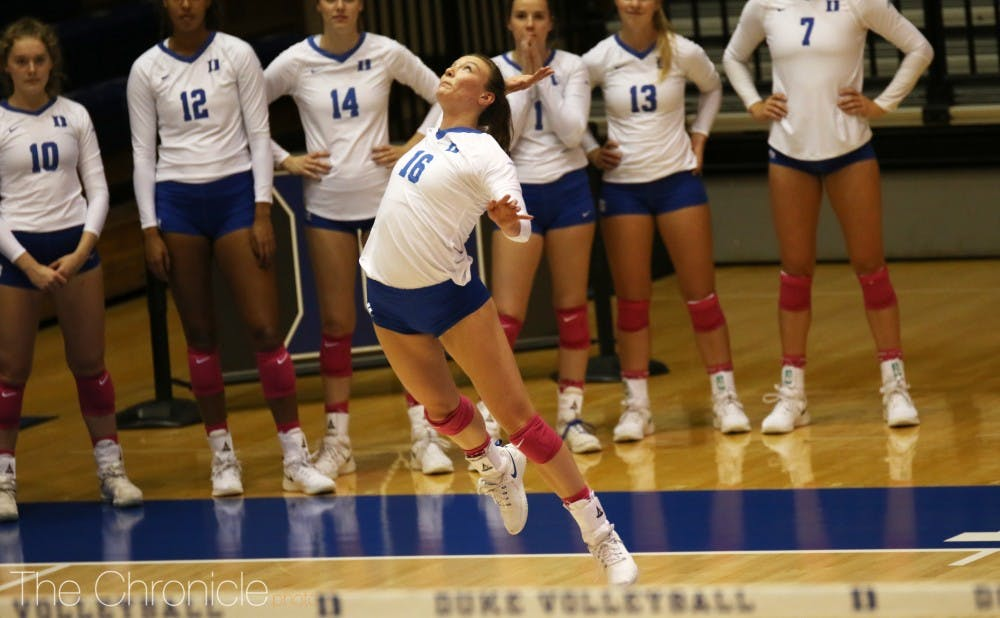 <p>Andie Shelton recorded her sixth triple-double of the season Friday.</p>
