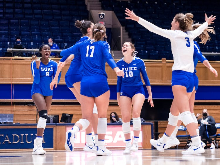 Duke was the only team to sweep Virginia this fall.