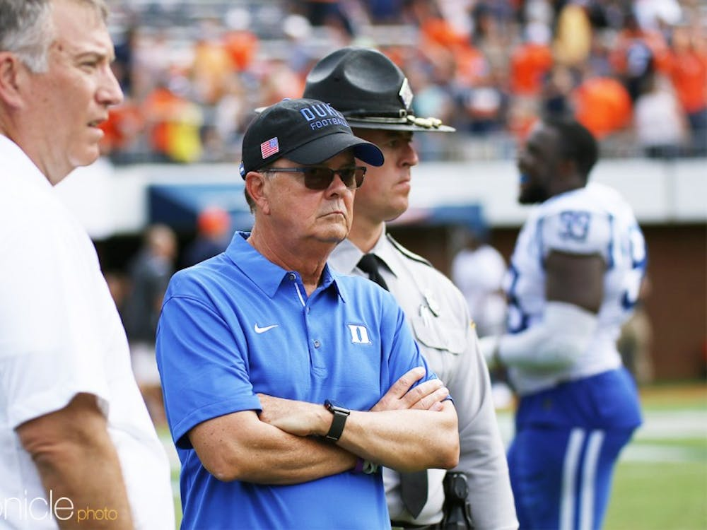 David Cutcliffe and offensive coordinator Zac Roper made a perplexing decision to stop running the ball in the second half Saturday.