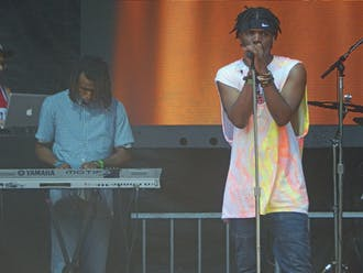 Smino at Lollapalooza in 2016.