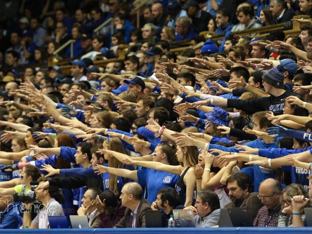 The Cameron Crazies are a key factor in the Blue Devils' home-field advantage.