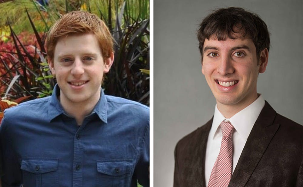 Sophomore Brian Taylor and junior Gregory LaHood and were selected Monday as co-chairs of DUSDAC.