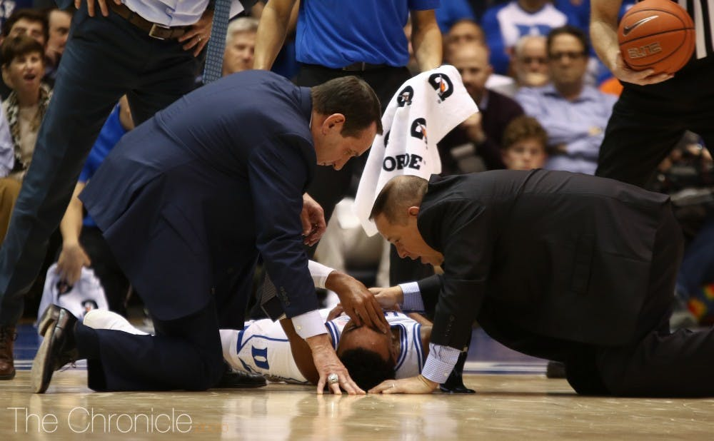 <p>Tre Jones' shoulder injury has the potential to really limit Duke on both ends of the floor if the Blue Devils don't make any adjustments.</p>