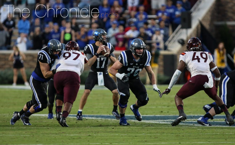 Duke Football 2017 Position Preview Offensive Line The Chronicle