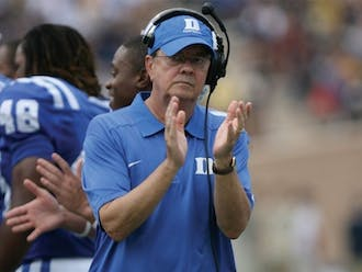 Head coach David Cutcliffe and his Blue Devils' slate for the upcoming fall is set.