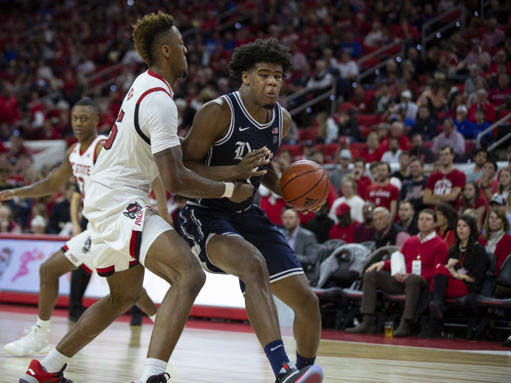 Vernon Carey Jr. must stay on the floor if Duke hopes to take down N.C. State this time out.
