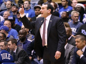 In his forty years of leading Duke, Coach Krzyzewski has won 1,132 games. What jersey number has contributed most?