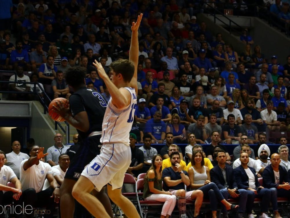 Joey Baker's projected playtime is still a mystery, however, his qualities as a basketball player could help the Blue Devils immensely this season.