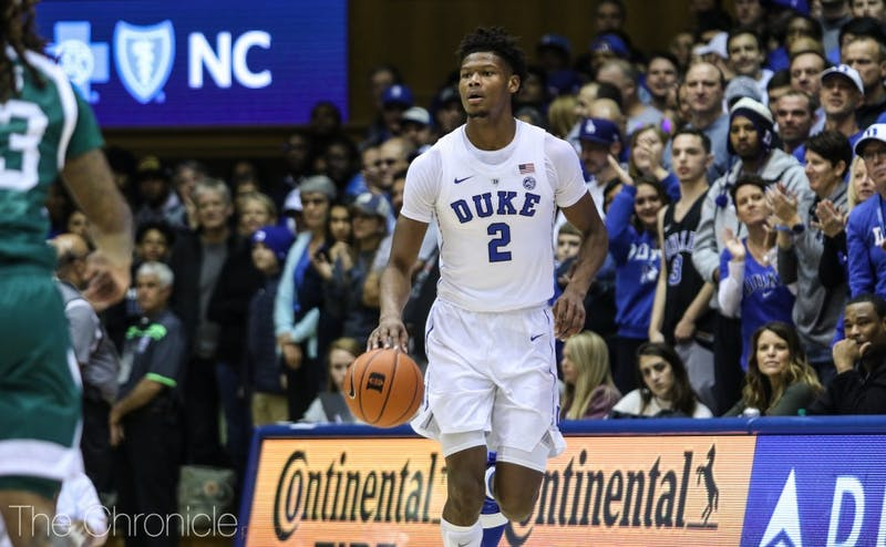 Cam Reddish's likely return will help Duke Saturday.