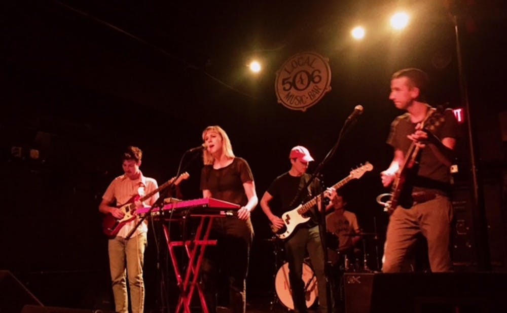 <p>Indie rock band Varsity played Chapel Hill's Local 506 last Wednesday.</p>