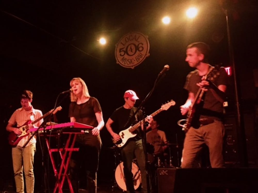 Indie rock band Varsity played Chapel Hill's Local 506 last Wednesday.